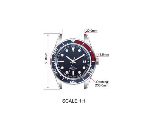 GWC Watch Sizes
